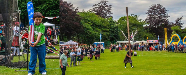 Friendly Frolics At Kenmore Highland Games 2018